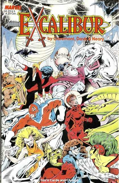Excalibur Special Edition The Sword Is Drawn #1 Marvel Comics April 1988 FN
