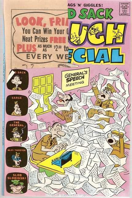 Sad Sack Laugh Special #88 Harvey Comics April 1976  FR