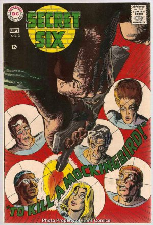 Secret Six (1968 Series) #3 DC Comics Sept 1968 FN