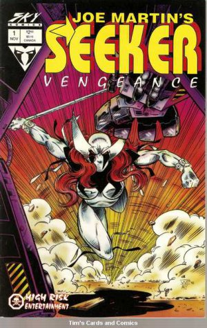Seeker Vengeance #1 Sky Comics Nov. 1993 FN
