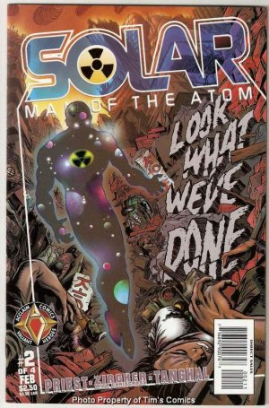 Solar Man of the Atom Hell on Earth #2 Acclaim Comics Feb 1998 FN