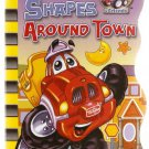 Tonka Chuck & Friends Shapes Around Town Board Book Hasbro