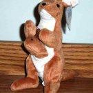 Ty Beanie Babies Pouch the Kangaroo