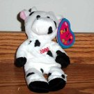 Avon Birthstone Full o' Beans Clara the Cow Plush Stuffed Animal Toy Loose Used