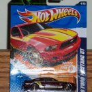 Hot Wheels 2011-144 2010 Ford Mustang GT (Faster Than Ever #4/10) Dark Red New
