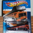 Hot Wheels 2011-173 Back Slider (HW City Works #3/10) Orange New