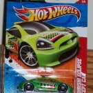 Hot Wheels 2011-221 Mitsubishi Eclipse Concept Car (Thrill Racers – Raceway #5/6) New