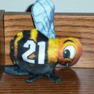Wendy's Toy Wild Mascots Animal Ball Hornets # 21  2005