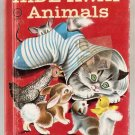 Hide-Away Animals Rand McNally Junior Elf Book 8007 GD