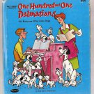 One Hundred and One Dalmatians Walt Disney 101 Whitman Tell-a-Tale Book 2427-5