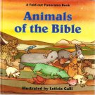Animals of the Bible A Fold-Out Panorama Book 1996 Hardcover