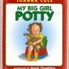 My Big Girl Potty by Joanna Cole Hardcover