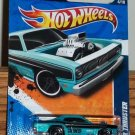 Hot Wheels 2011-134 Plymouth Duster Thruster HW Performance '11 #4/10 Light Blue New