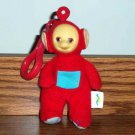 Burger King Teletubbies Po Kids Club Toy Red with Clip Loose