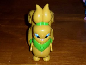 Neopets Usul Yellow Voice Activated Electronic Plastic Toy Thinkway Toys