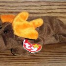 Ty Beanie Babies Chocolate the Moose VG with Tags