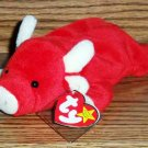 Ty Beanie Babies Snort the Bull NM with Tags