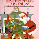 My Christmas Treasury A Collection of Christmas Stories Poems and Songs HC Book