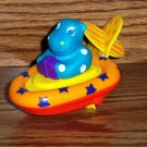 Sassy Hip-O-Boat Pull and Go Bath Toy Loose