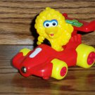 Tyco 1997 Sesame Street Big Bird Plastic Racing Car #1 Loose Used