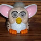 McDonald's Furbies Beige Furby with Spots and White Hair 1999 Happy Meal Toy Loose