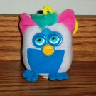 McDonald's Furbies Elephant Furby Gray with Blue Hair 2000 Happy Meal Toy Loose Used