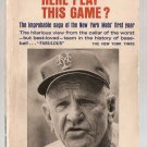 Can't Anybody Here Play This Game? Jimmy Breslin New York Mets 1963 Edition