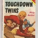 Touchdown Twins by Philip Harkins Scolastic Tab Paperback Book 1960