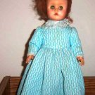 Vintage 13&quot; Vinyl Girl Doll 1950s or 1960s