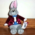Mayor Clayton Rabbit Plush Stuffed Animal Give Kids the World Used