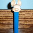 Pez Candy Dispenser Fat-Eared Easter Bunny Pink Head Blue Stem No Feet Loose Used