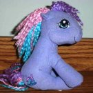 My Little Pony Tink-a-Tink-a-Too Plush w/ Yarn Hair 2004 Hasbro Used