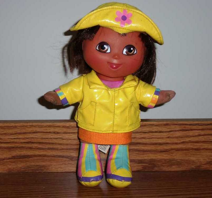 697265c59baf1 Fisher-Price G7177 Rainy Day Dora Doll 2004 Loose Used