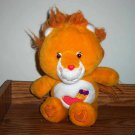 "Care Bear Cousins Brave Heart Lion 12"" 2004  Used"