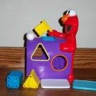 Fisher-Price Sesame Street Elmo's Mailbox Sorter Incomplete Used