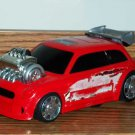 Hot Wheels Supercharged Flame Throwers Red Hot Rod Car Used