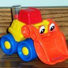 Fisher-Price #71332 Happy Bulldozer Mattel Truck  Loose Used