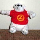 Leelanau Sands Casino & Lodge Souvenir Bear Stuffed Plush Toy Used