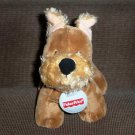 Fisher Price Puppy Pals Aimie Terrier Dog Plush Stuffed Toy Used