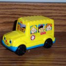 McDonald's Fisher-Price Little People Yellow School Bus U3 Happy Meal Toy Mattel Loose