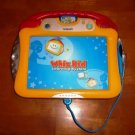 VTech Whiz Kid Learning System with Wondertown Cartridge 19 Activity Pages Loose Used