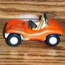 Vintage Tiny Tonka Orange Fun Buggy Pressed Steel Car Loose Used