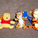 McDonald's The Tigger Movie 2000 and others Lot of 3 Happy Meal Toys Loose Used