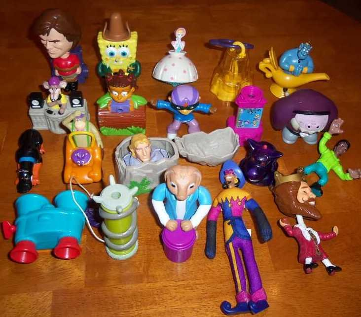 Burger King Kids Meal Toys Lot of 20 Misc. Loose Used
