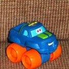 Playskool Tonka Wheel Pals Mini Blue Monster Truck Loose Used
