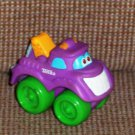 Playskool Tonka Wheel Pals Mini Purple Tow Truck Loose Used