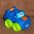 Playskool Tonka Wheel Pals Mini Blue Jeep Car Loose Used