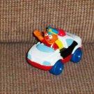 Fisher Price Sesame Street Die-Cast Vehicles Ernie's Police Car 2005 Loose Used