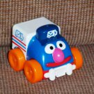 Fisher Price Sesame Street Giggle & Go Grover Mail Truck Loose Used