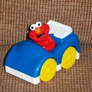 Fisher-Price G8599 Sesame Street Elmo in Blue Car Loose Used